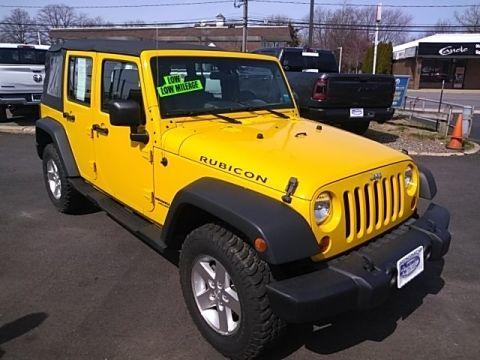 Pre-Owned 2008 Jeep Wrangler Unlimited Rubicon 4WD